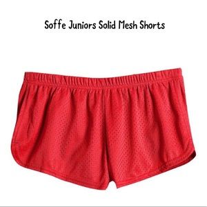 EUC Soffe Juniors Solid Mesh Shorts